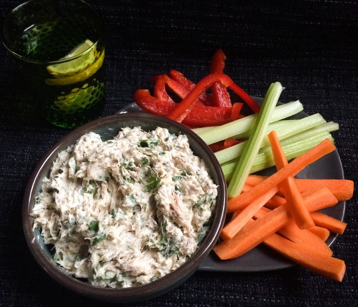 Easy mackerel pate