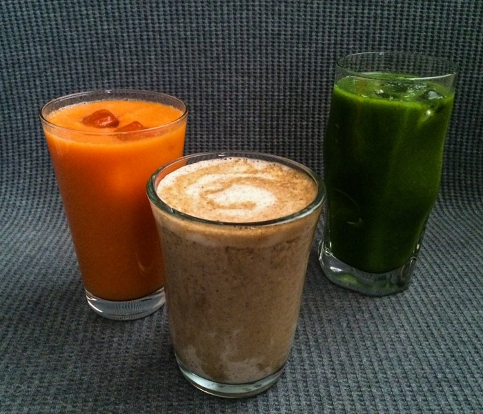 Liquid breakfast fuel – 3 awesome smoothies