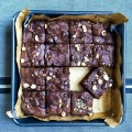 Nutty Protein Brownies